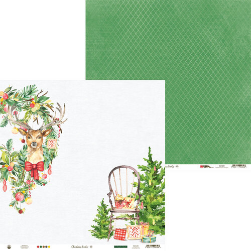 P13 - Christmas Treats Collection - 12 x 12 Double Sided Paper - 03