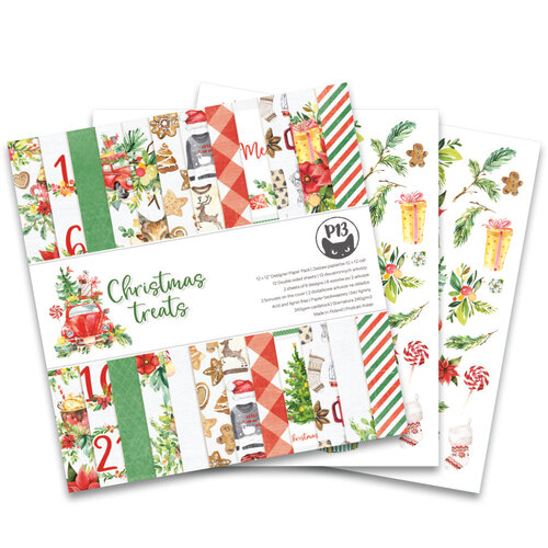 P13 - Christmas Treats Collection - 12 x 12 Paper Pad