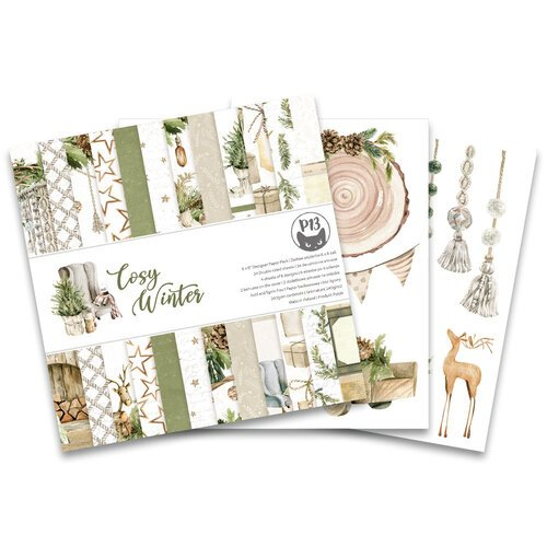 P13 - Cosy Winter Collection - 6 x 6 Paper Pad