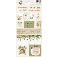 P13 - Cosy Winter Collection - Cardstock Stickers - Sheet 02
