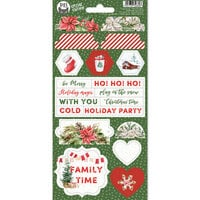 P13 - Cosy Winter Collection - Chipboard Stickers - Sheet 03