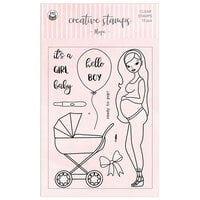 P13 - Clear Photopolymer Stamps - Hope
