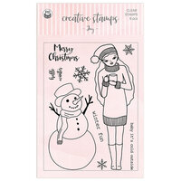 P13 - Clear Photopolymer Stamps - Joy