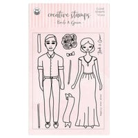 P13 - Clear Photopolymer Stamps - Bride and Groom