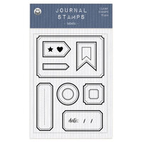 P13 - Chipboard Embellishments - Clear Photopolymer Stamps - Labels