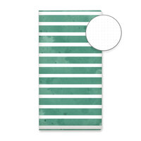 P13 - Planners Collection - Dot Journal - Green Stripes