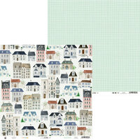 P13 - We Are Family Collection - 12 x 12 Double Sided Paper - 01