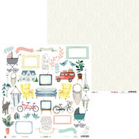 P13 - We Are Family Collection - 12 x 12 Double Sided Paper - 07