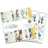 P13 - We Are Family Collection - 12 x 12 Paper Pad