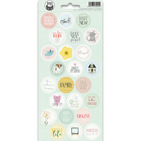 P13 - We Are Family Collection - Cardstock Sticker Sheet - Three