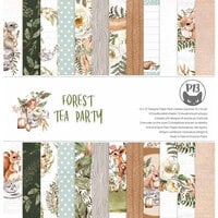P13 - Forest Tea Party Collection - 12 x 12 Paper Pad
