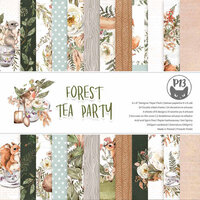 P13 - Forest Tea Party Collection - 6 x 6 Paper Pad