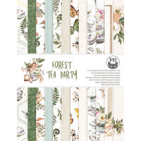 P13 - Forest Tea Party Collection - 6 x 8 Paper Pad