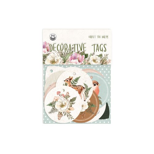 P13 - Forest Tea Party Collection - Embellishments - Tag Set Number One