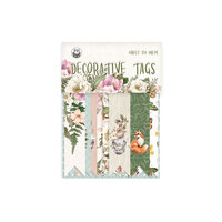 P13 - Forest Tea Party Collection - Embellishments - Tag Set Number Three