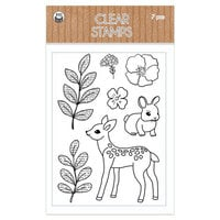 P13 - Forest Tea Party Collection - Clear Photopolymer Stamps