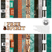 P13 - Free Spirit Collection - 12 x 12 Paper Pad