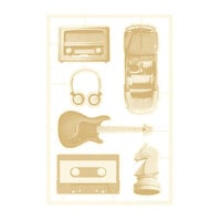 P13 - Free Spirit Collection - Chipboard Embellishments - Set 02