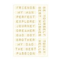 P13 - Free Spirit Collection - Chipboard Embellishments - Set 04