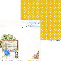 P13 - The Garden of Books Collection - 12 x 12 Double Sided Paper - 01