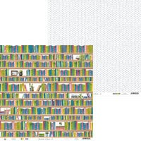 P13 - The Garden of Books Collection - 12 x 12 Double Sided Paper - 04
