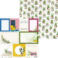 P13 - The Garden of Books Collection - 12 x 12 Double Sided Paper - 05
