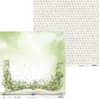 P13 - The Garden of Books Collection - 12 x 12 Double Sided Paper - 06
