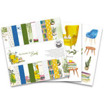 P13 - The Garden of Books Collection - 6 x 6 Paper Pad