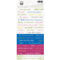 P13 - The Garden of Books Collection - Cardstock Stickers - Sheet 01
