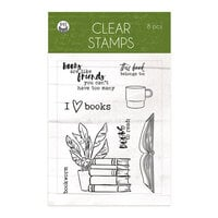 P13 - The Garden of Books Collection - Clear Photopolymer Stamps