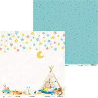 P13 - Good Night Collection - 12 x 12 Double Sided Paper - Sheet 01