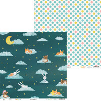 P13 - Good Night Collection - 12 x 12 Double Sided Paper - Sheet 02