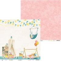 P13 - Good Night Collection - 12 x 12 Double Sided Paper - Sheet 03