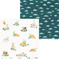 P13 - Good Night Collection - 12 x 12 Double Sided Paper - Sheet 04