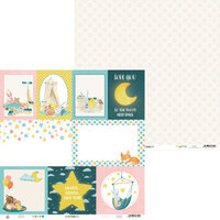 P13 - Good Night Collection - 12 x 12 Double Sided Paper - Sheet 05