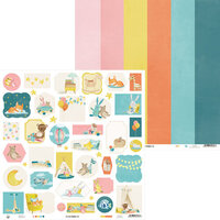 P13 - Good Night Collection - 12 x 12 Double Sided Paper - Sheet 06