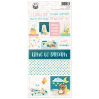 P13 - Good Night Collection - Cardstock Stickers - Sheet 02