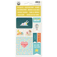 P13 - Good Night Collection - Chipboard Stickers - Sheet 01