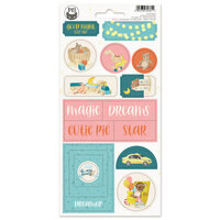 P13 - Good Night Collection - Chipboard Stickers - Sheet 02