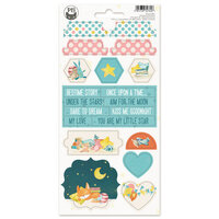 P13 - Good Night Collection - Chipboard Stickers - Sheet 03