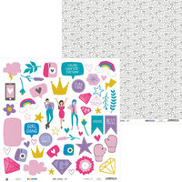 P13 - Girl Gang Collection - 12 x 12 Double Sided Paper - 07