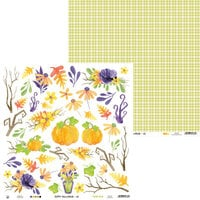 P13 - Happy Halloween Collection - 12 x 12 Double Sided Paper - Sheet 03