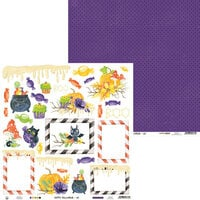 P13 - Happy Halloween Collection - 12 x 12 Double Sided Paper - Sheet 04