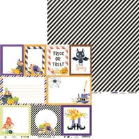 P13 - Happy Halloween Collection - 12 x 12 Double Sided Paper - Sheet 05