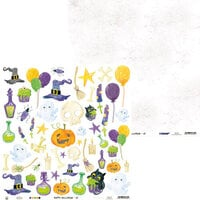 P13 - Happy Halloween Collection - 12 x 12 Double Sided Paper - Sheet 07