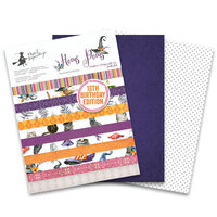 P13 - 6 x 8 Double Sided Paper Pad - Hocus Pocus