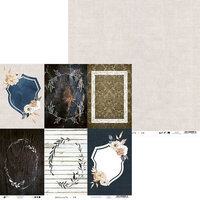 P13 - Soulmate Collection - 12 x 12 Double Sided Paper - 06