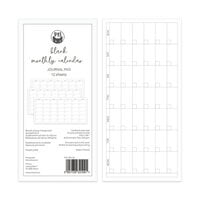 P13 - Planners Collection - Monthly Calendar - Blank