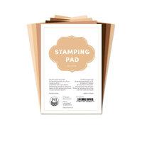 P13 - 4 x 6 Paper Pad - Stamping Pad - Skin Tones