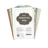 P13 - 4 x 6 Paper Pad - Mini Creative Pad - Wood